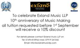 News From Exland Music!